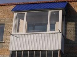 объединение кухни и балкона в Северске